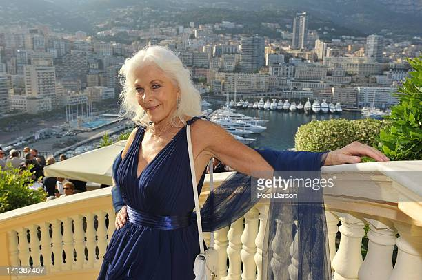 Linda Thorson poses the Cocktail Party at Ministry Of State during the 53rd Monte Carlo TV Festival on June 12 2013 in MonteCarlo Monaco