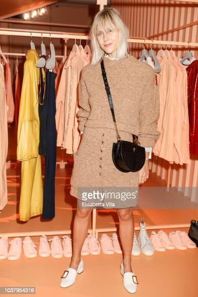 Linda Tol attended the Bally Spring Summer 2019 Press Presentation during Milan Fashion Week on September 22 2018 in Milan Italy