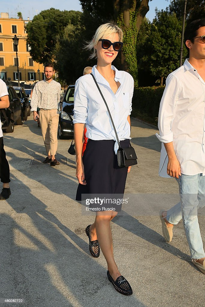 Linda Tol attends Coulture/Sculpture Vernissage Cocktail honoring Azzedine Alaia in the history of fashion at Galleria Borghese at Galleria Borghese on July 10, 2015 in Rome, Italy.