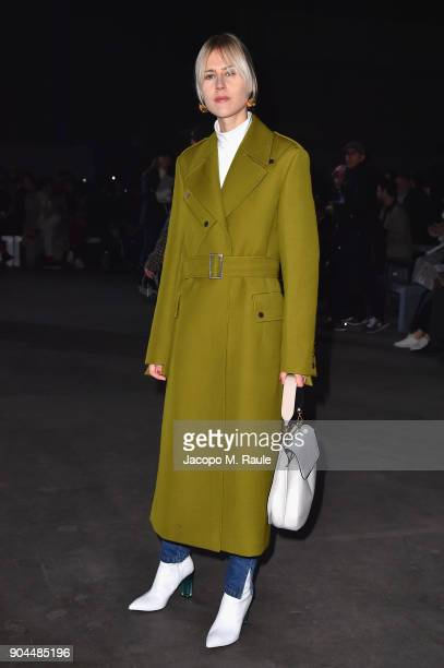 Linda Tol attends the Diesel Black Gold show during Milan Men's Fashion Week Fall/Winter 2018/19 on January 13 2018 in Milan Italy