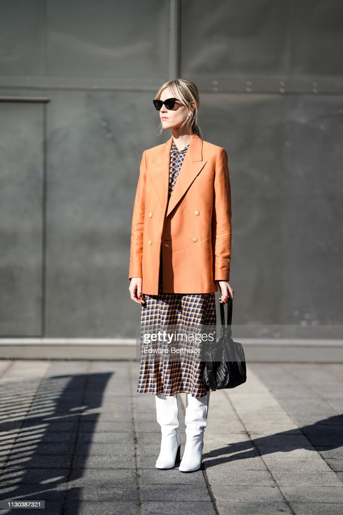 Street Style - LFW February 2019 : Photo d'actualité