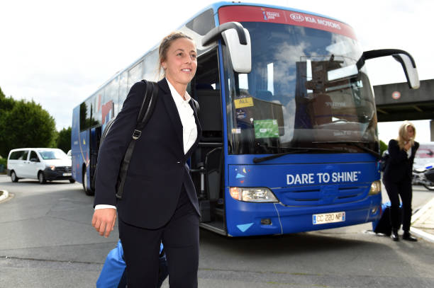 FRA: Italy Women Arrives In Lille: FIFA Women's World Cup France 2019