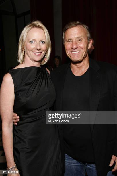 Linda Wells and Ian Schrager during Allure's Linda Wells Hosts a Private Dinner for Kate Hudson at Ian Schrager's Gramercy Park Hotel at Gramercy...