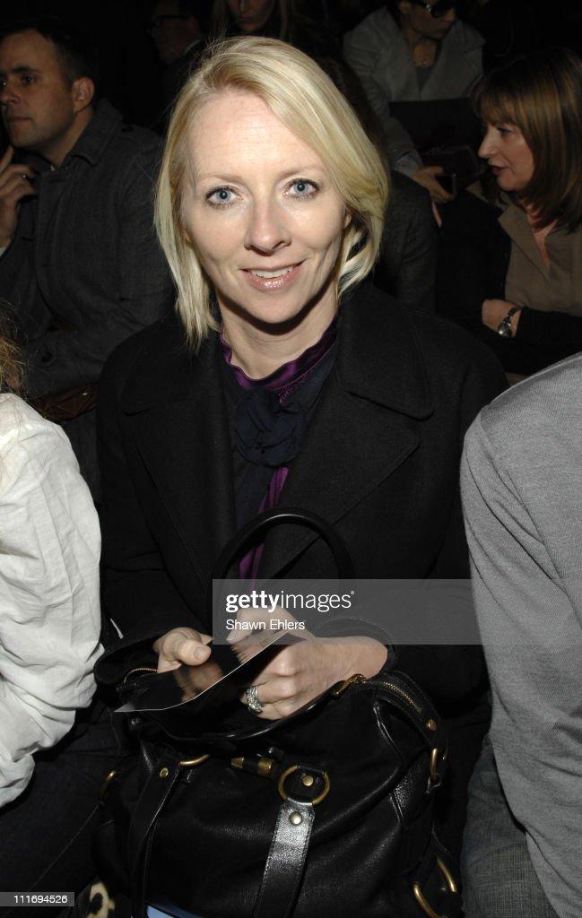 Mercedes-Benz Fashion Week Fall 2008 - Donna Karan - Front Row and Backs