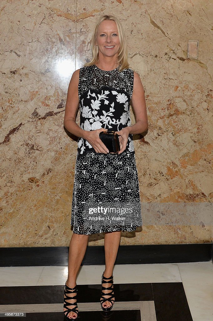 Linda Wells attends the Gucci beauty launch event hosted by Frida Giannini on June 4, 2014 in New York City.