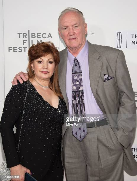 Linda Wepner and Chuck Wepner attend the Chuck screening during the 2017 Tribeca Film Festival at BMCC Tribeca PAC on April 28 2017 in New York City
