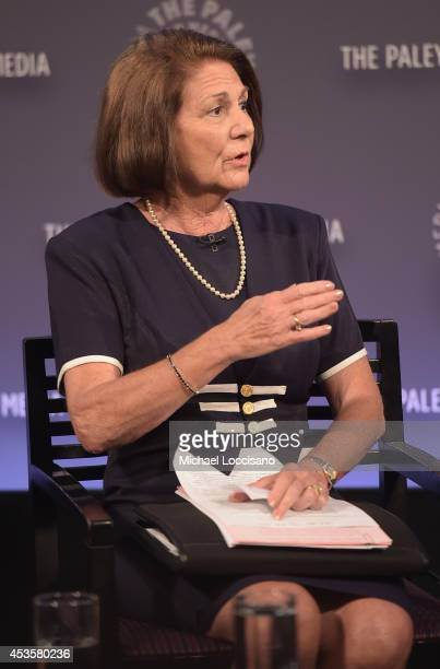 """Linda Wojas takes part in a Q&A following a special screening of the HBO Documentary Film """"Captivated: The Trials Of Pamela Smart"""" at the Paley..."""
