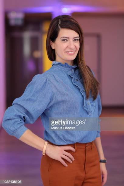 Linda Zervakis attends the BREE Grand Opening Of New Haedquarters In Hamburg on October 17 2018 in Hamburg Germany