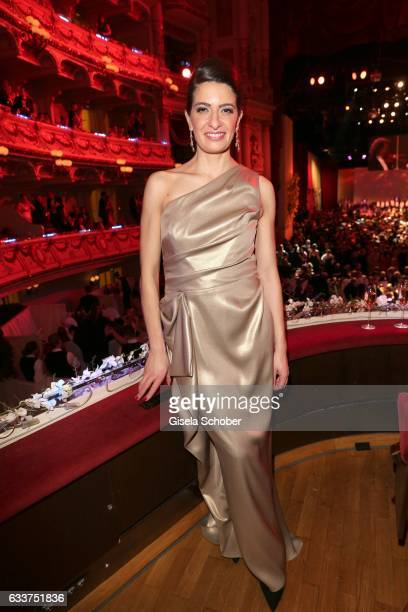 Linda Zervakis during the Semper Opera Ball 2017 at Semperoper on February 3 2017 in Dresden Germany