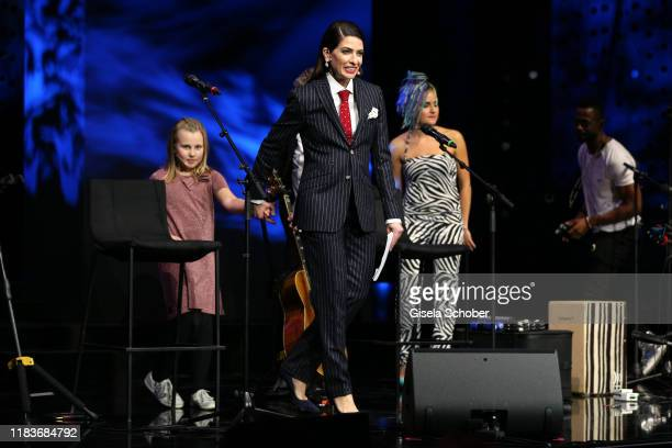 Linda Zervakis during the Tribute To Bambi show at Casino BadenBaden on November 20 2019 in BadenBaden Germany
