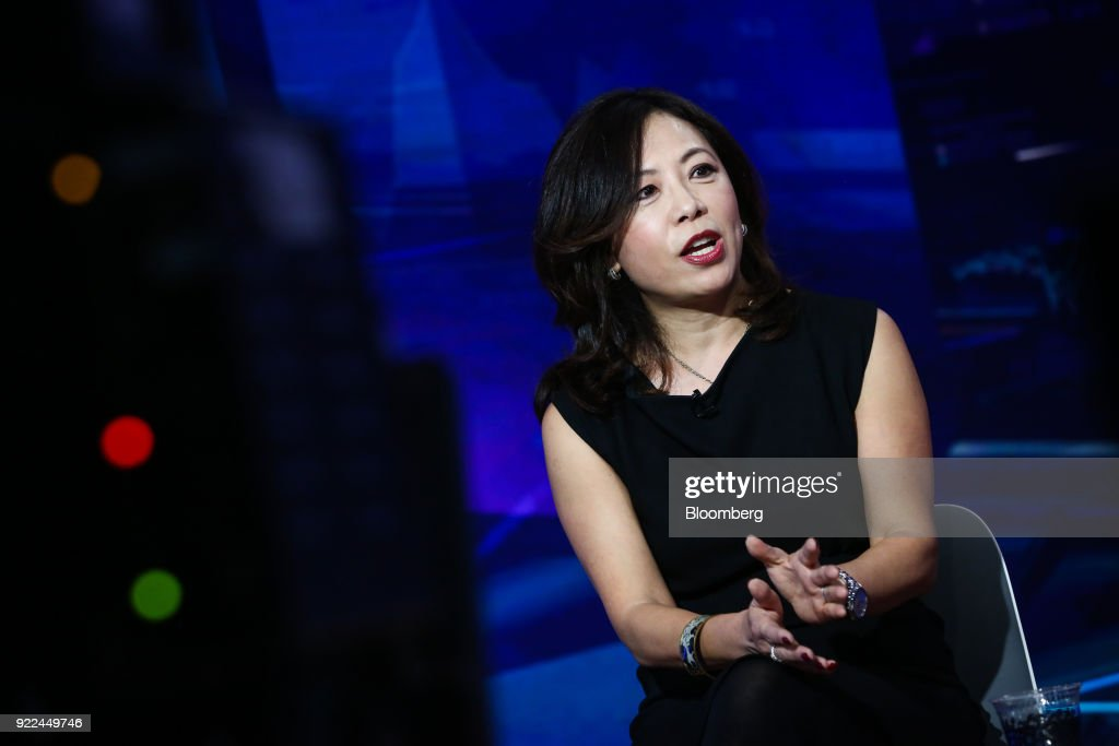 Purview Investments Chief Executive Officer And Founder Linda Zhang Interview : Photo d'actualité
