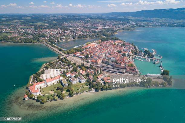 lindau, bodensee, deutschland - bodensee stock pictures, royalty-free photos & images