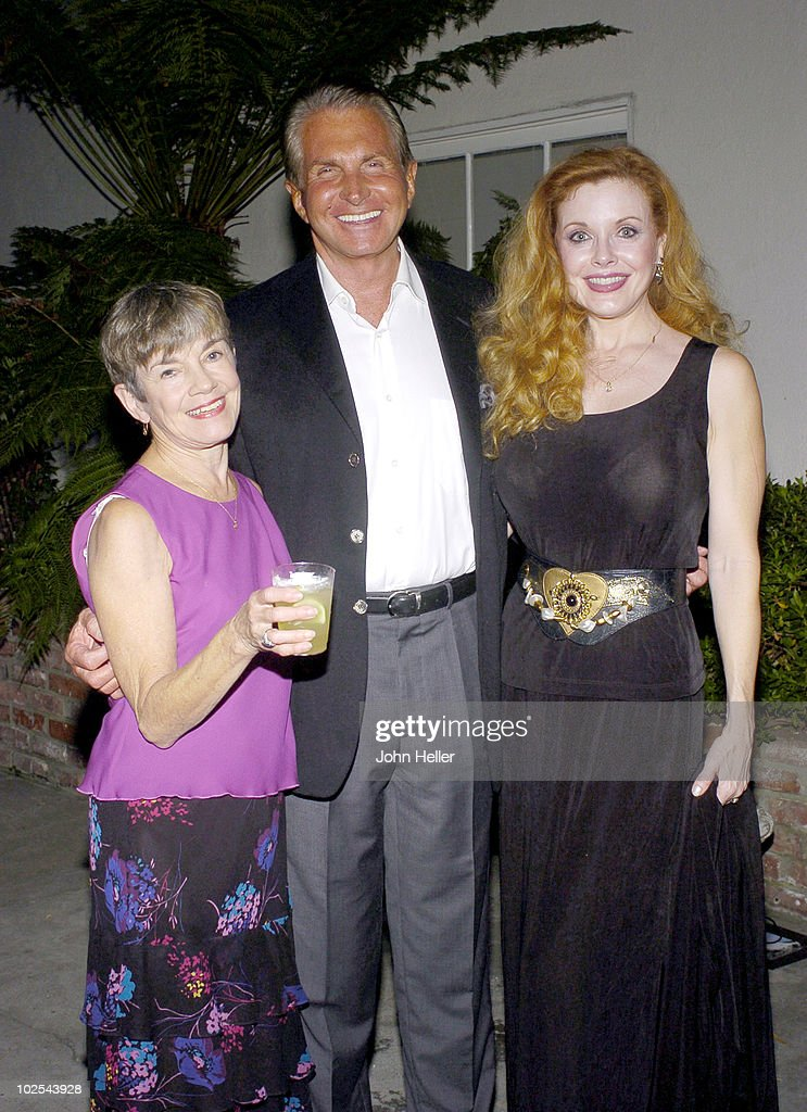 Linde Gibb, George Hamilton and Rebecca Holden