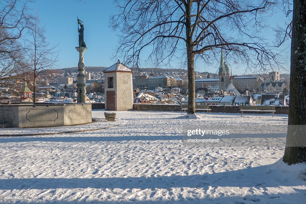 Lindenhof, zurich, Switzerland : Stock Photo