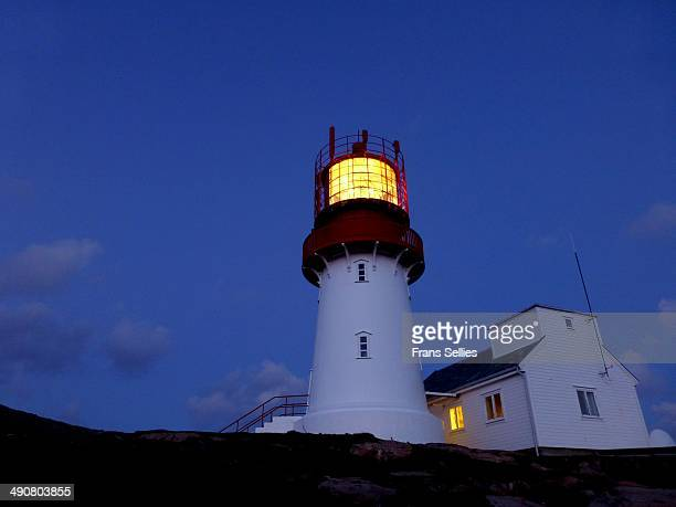 lindesnes lighthouse, norway - frans sellies stock pictures, royalty-free photos & images