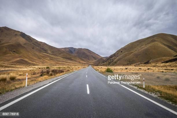 Lindis Pass, South Island, New Zealand