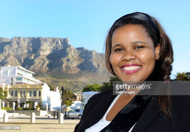 Lindiwe Mazibuko DA Party spokesperson poses during a portrait session on May 24 2011 in Cape Town South Africa