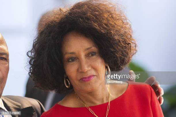 Lindiwe Sisulu South Africa's social development minister attends a swearingin ceremony in Pretoria South Africa on Thursday May 30 2019 Now that...