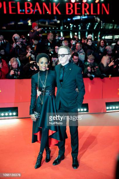 Lindiwe Suttle and Marius Mueller-Westernhagen attends the 'The Kindness Of Strangers' Red Carpet at the 69th Berlinale International Film Festival...