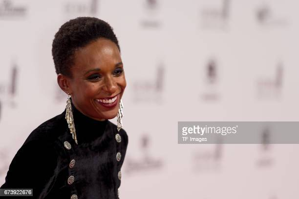 Lindiwe Suttle on the red carpet during the ECHO German Music Award in Berlin Germany on April 06 2017