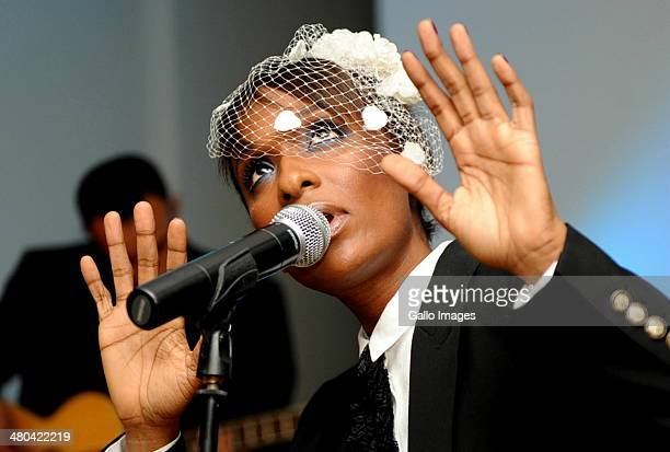 Lindiwe Suttle performing on October 29 2010 in Johannesburg South Africa