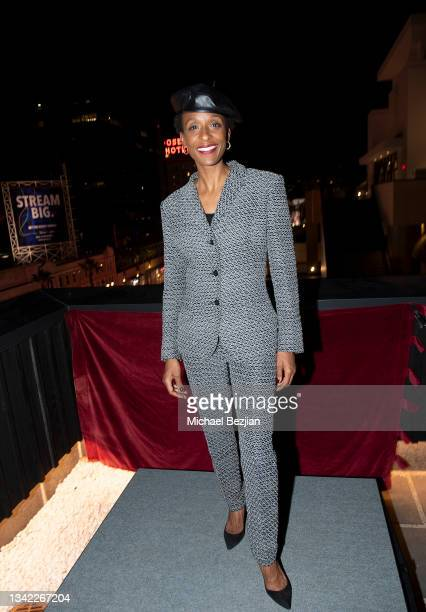 Lindiwe Suttle-Miller-Westernhagen arrives at 17th Annual Oscar-Qualifying HollyShorts Film Festival Opening Night at Japan House Los Angeles on...