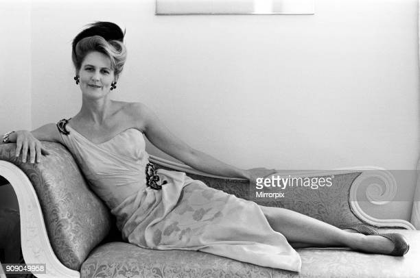 Lindka Cierach who designed the wedding dress for the Duchess of York 7th August 1986