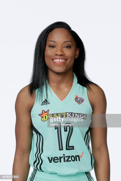 Lindsay Allen of the New York Liberty poses for a portrait at Media Day at MSG Training Center on May 4 2017 in Tarrytown New York NOTE TO USER User...