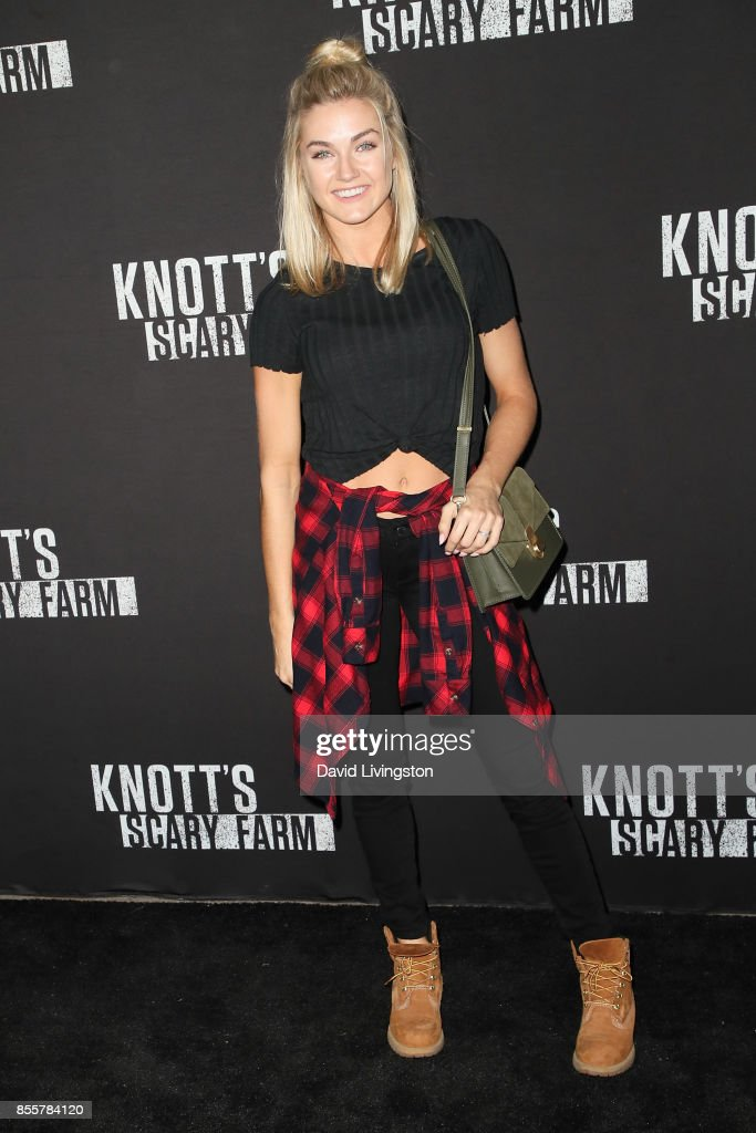 Lindsay Arnold attends the Knott's Scary Farm and Instagram's Celebrity Night at Knott's Berry Farm on September 29, 2017 in Buena Park, California.