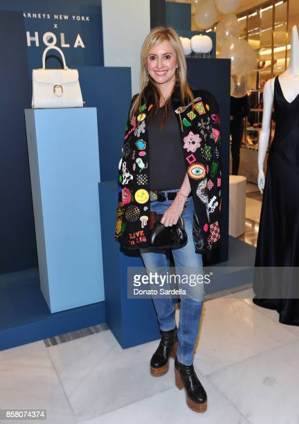 Lindsay Berger Sacks attends a Cocktail Event in support of HOLA Heart of Los Angeles hosted by Barneys New York at Barneys New York Beverly Hills on...