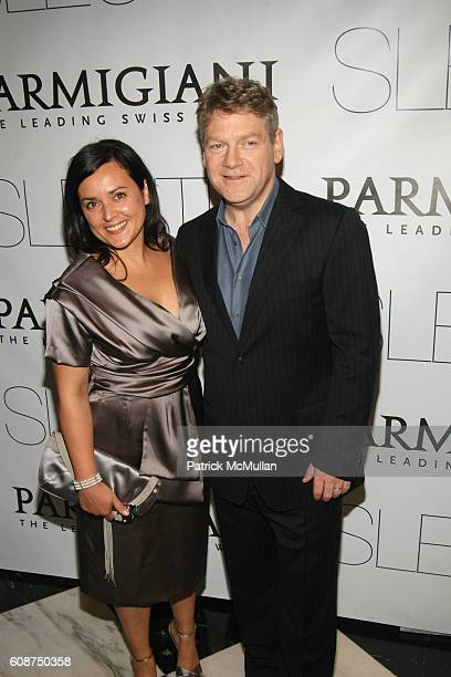 Lindsay Brunnock and Kenneth Branagh attend NY Premiere of Sony Pictures Classics SLEUTH at Paris Theater on October 2 2007 in New York City