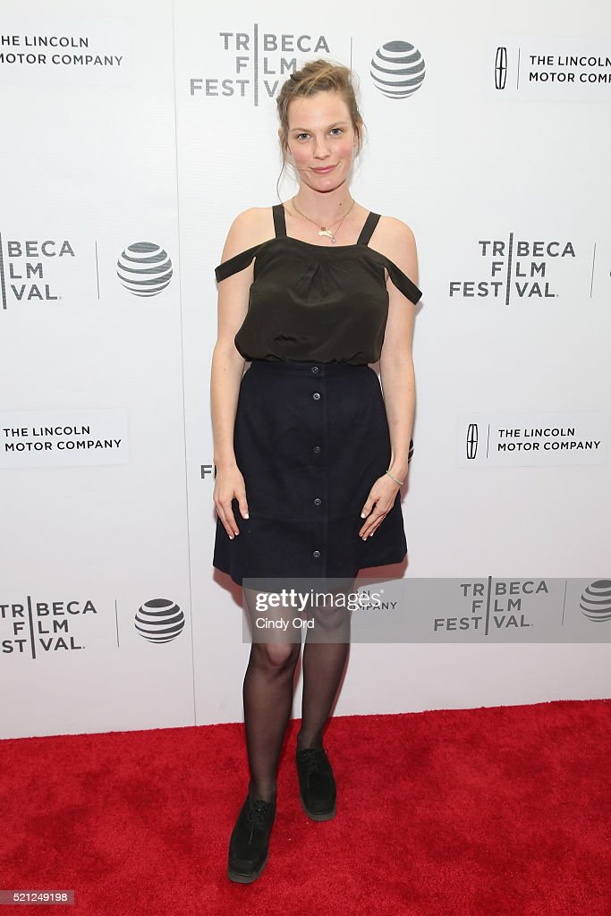 Lindsay Burdge attends the 'Actor Martinez' Premiere during the 2016 Tribeca Film Festival at Regal Battery Park Cinemas on April 14, 2016 in New York City.