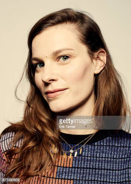 Lindsay Burdge from 'Thirst Street' poses at the 2017 Tribeca Film Festival portrait studio on April 21 2017 in New York City