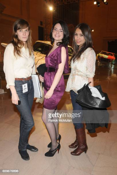 Lindsay Burdge Mindy Lubert and Luz Jacome attend VANITY FAIR and BOB COLACELLO Celebrate the Arrival of the BMW Art Car World Tour Free Public Art...