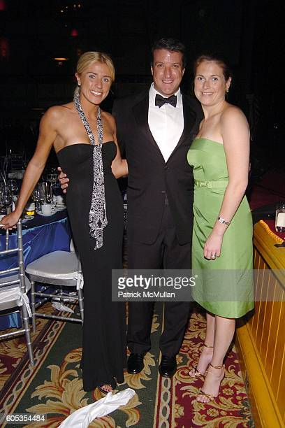 Lindsay Burt Brian O'Connor and Katie Condron attend The American Ireland Fund 31st Annual New York Dinner Gala at The Waldorf Astoria on May 4 2006...
