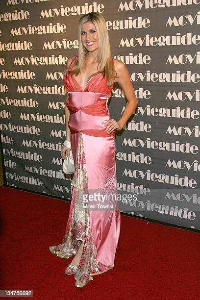 Lindsay Clubine during 15th Annual Movieguide Faith and Values Awards at Beverly Wilshire Hotel in Beverly Hills, California, United States.