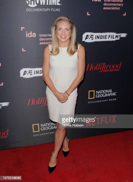 Lindsay Crouse of NYTIMES OP DOCS attends the 2018 IDA Documentary Awards on December 8 2018 in Los Angeles California