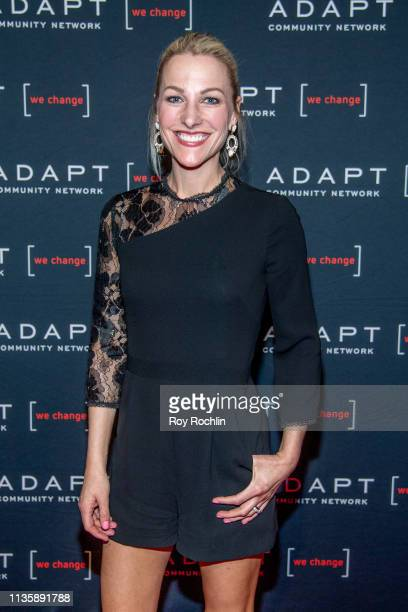 Lindsay Czarniak attends the 2019 Adapt Leadership Awards at Cipriani 42nd Street on March 14 2019 in New York City