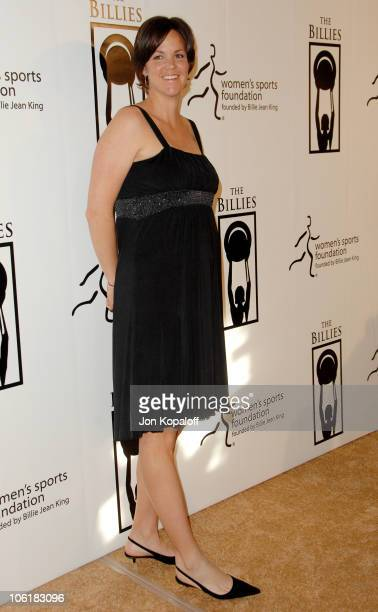 Lindsay Davenport during Women's Sports Foundation Presents The Billies Arrivals at Beverly Hilton Hotel in Beverly Hills California United States