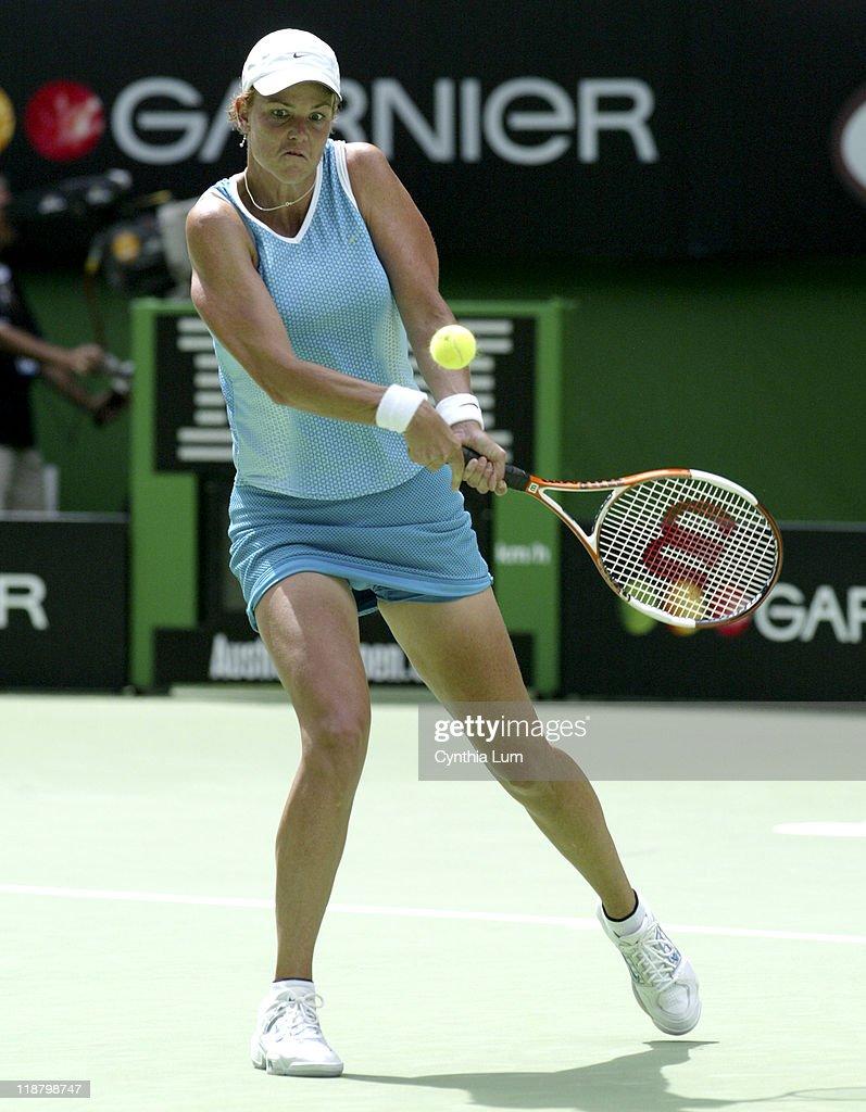 2005 Australian Open - Women's Singles - Quarter Finals - Lindsay Davenport vs