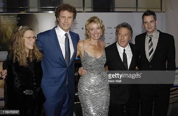 Lindsay Doran Will Ferrell Emma Thompson Dustin Hoffman and Zach Helm