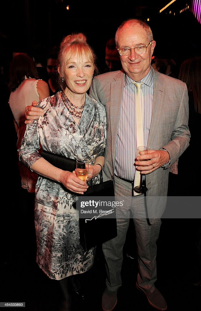 Lindsay Duncan (L) and Jim Broadbent attend an after party following the Moet British Independent Film Awards 2013 at Old Billingsgate Market on December 8, 2013 in London, England.