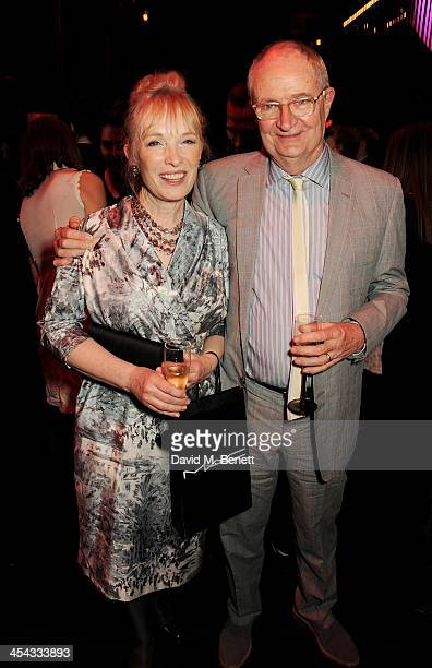 Lindsay Duncan and Jim Broadbent attend an after party following the Moet British Independent Film Awards 2013 at Old Billingsgate Market on December...
