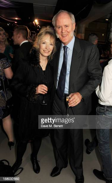 Lindsay Duncan and John Lithgow attend an after party following the press night performance of Matthew Bourne's Sleeping Beauty at Sadler's Wells...