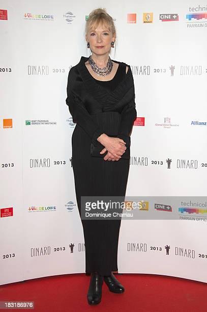 Lindsay Duncan attends the Dinard British film festival closing ceremony on October 5 2013 in Dinard France