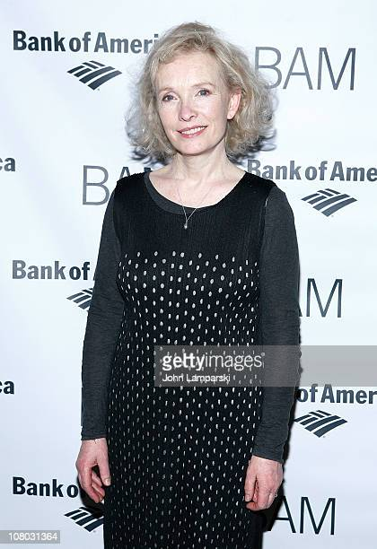 Lindsay Duncan attends the 'John Gabriel Borkman' after party>> at the Brooklyn Academy of Music on January 13 2011 in New York City