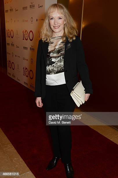 Lindsay Duncan attends the London Critics' Circle Film Awards at The Mayfair Hotel on February 2 2014 in London England
