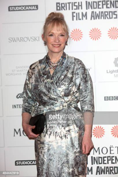 Lindsay Duncan attends the Moet British Independent Film awards at Old Billingsgate Market on December 8 2013 in London England