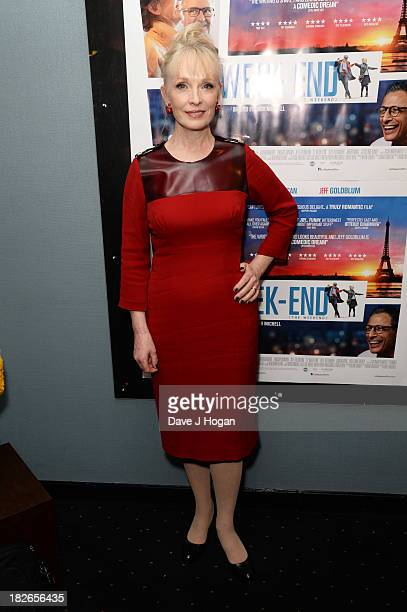 Lindsay Duncan attends the UK premiere of 'Le Weekend' at The Curzon Chelsea on October 1 2013 in London England