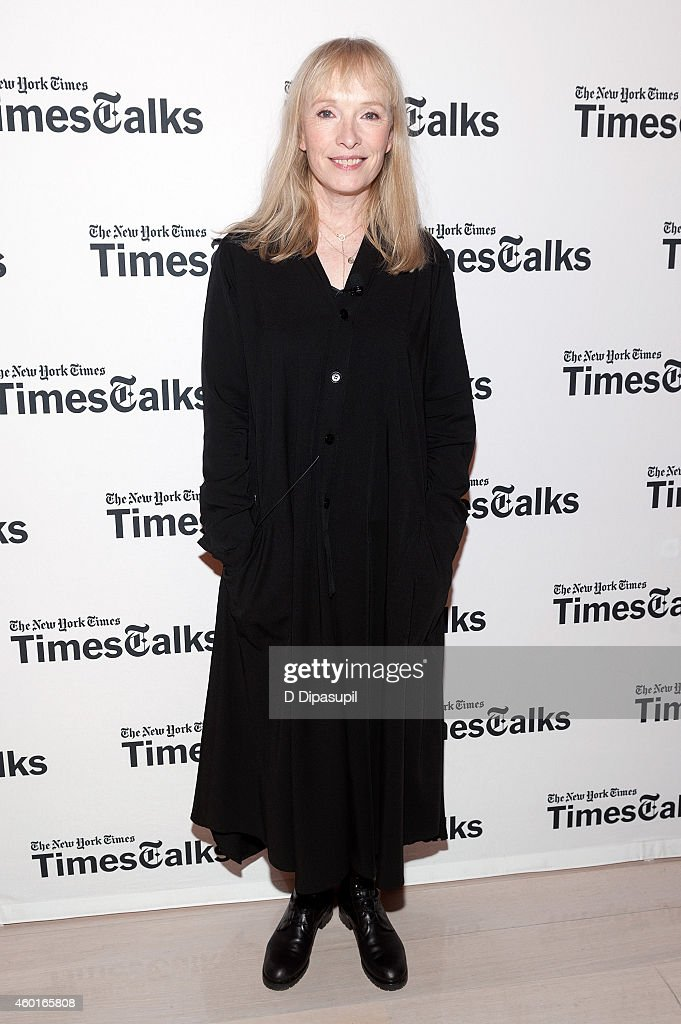 Lindsay Duncan attends TimesTalks Presents: An Evening With The Cast Of 'A Delicate Balance' at The Times Center on December 8, 2014 in New York City.